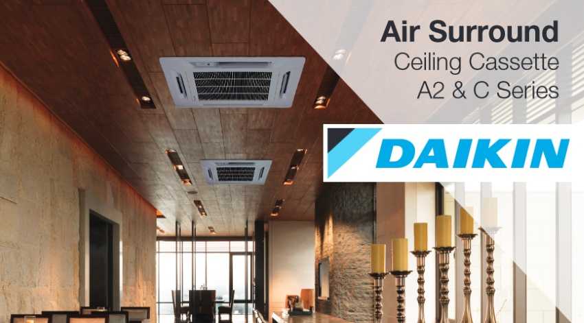 Daikin Air Surround Ceiling Cassette