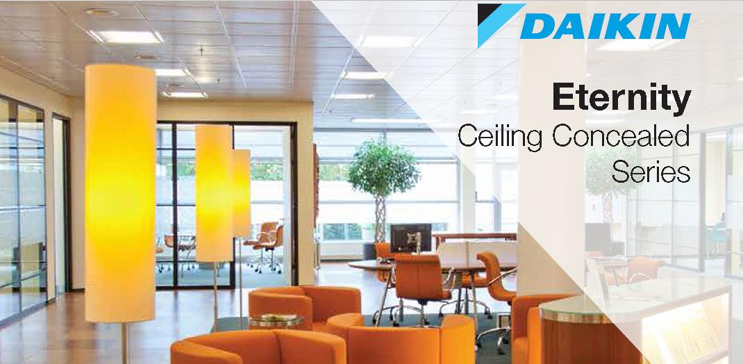Daikin Eternity Ceiling Concealed Mifa Air Conditioning
