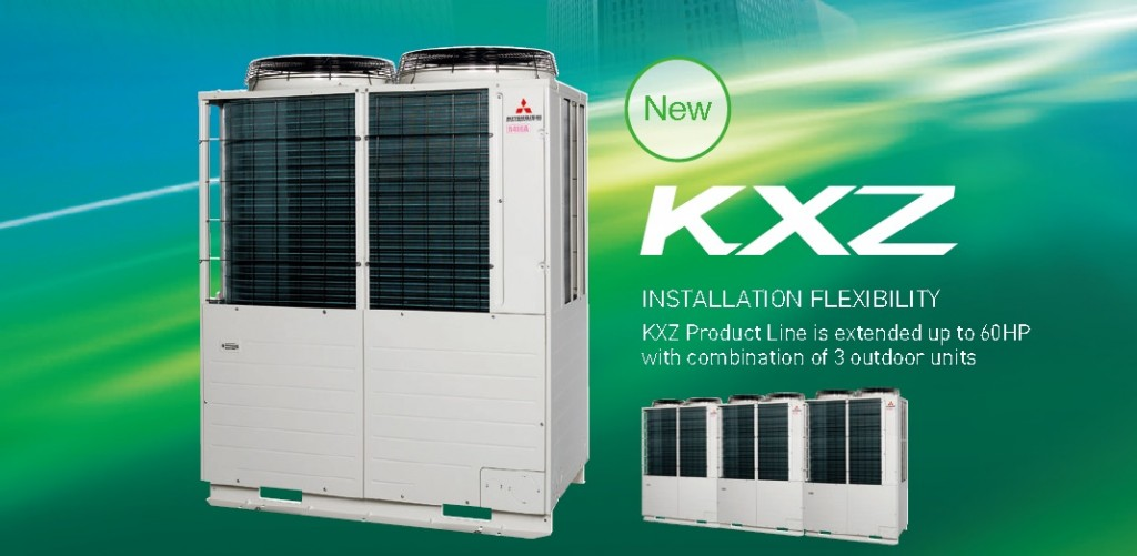Mitsubishi Kxz Vrf System Mifa Air Conditioning Sabah
