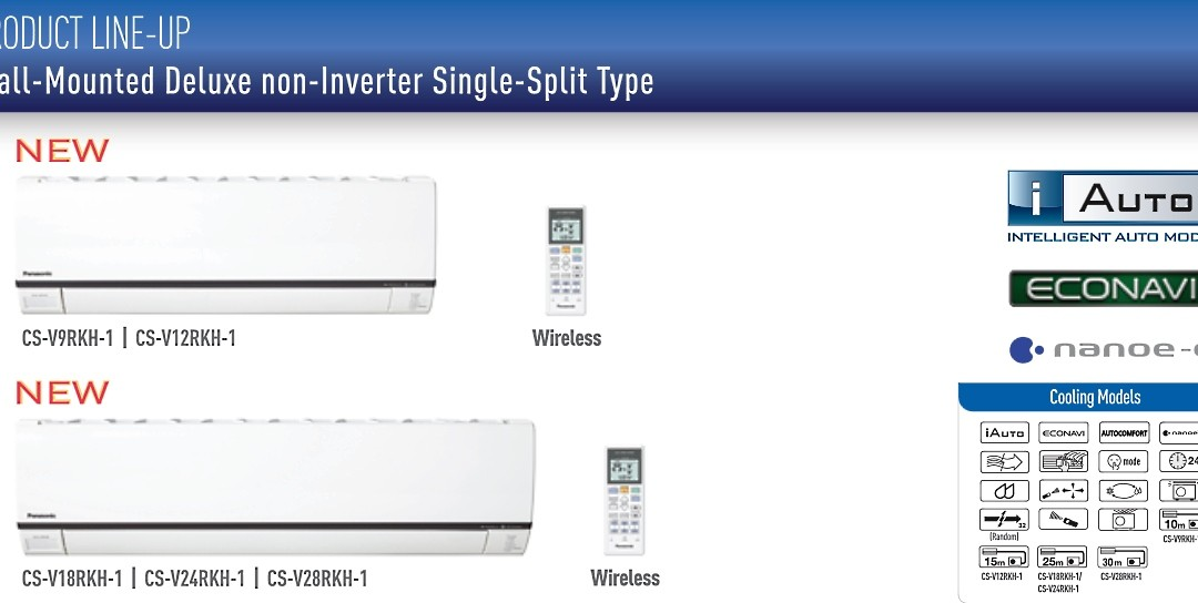 Panasonic Non-Inverter Deluxe Air Conditioner